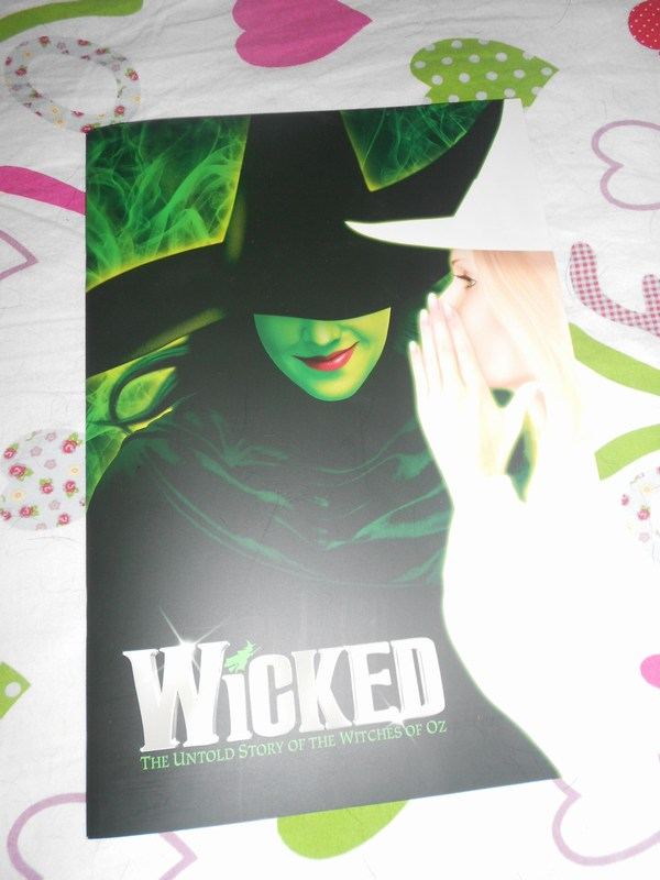 My Wicked Playbill